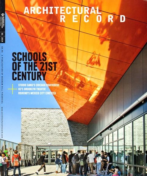 Architectural Record Cover - 1/1/2014