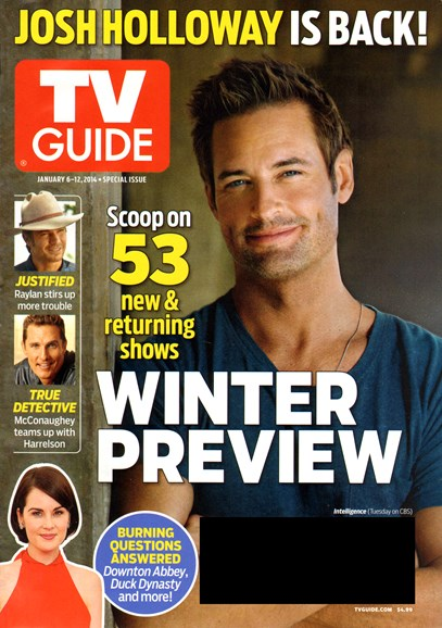 TV Guide Cover - 1/6/2014