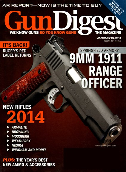 Gun Digest Cover - 1/27/2014