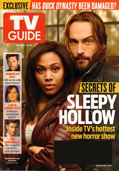 TV Guide Cover - 1/13/2014