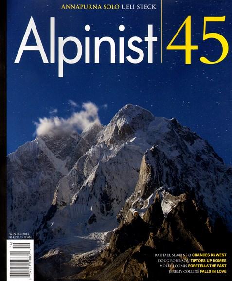 Alpinist Cover - 1/1/2014