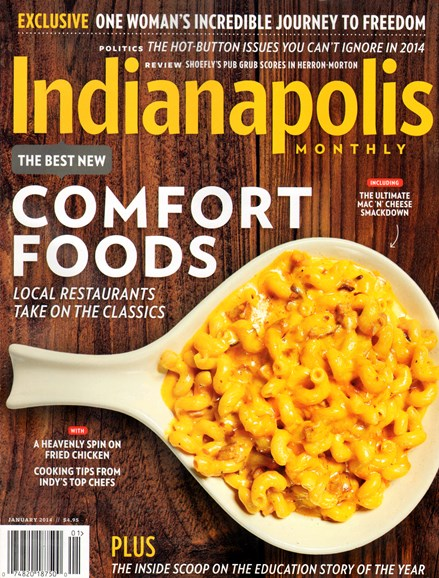 Indianapolis Monthly Cover - 1/1/2014