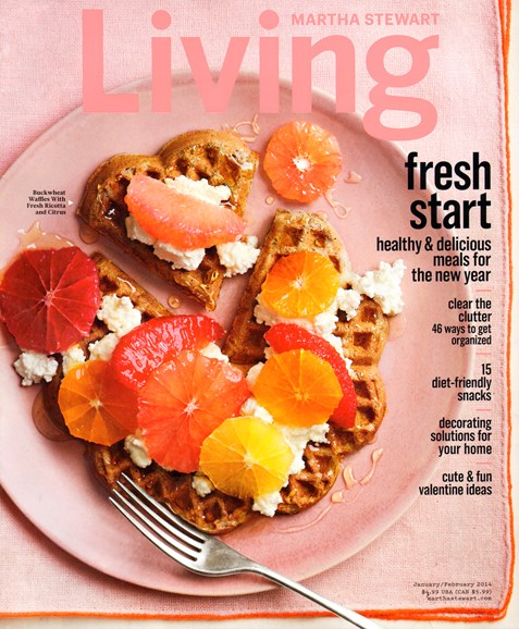 Martha Stewart Living Cover - 1/1/2014