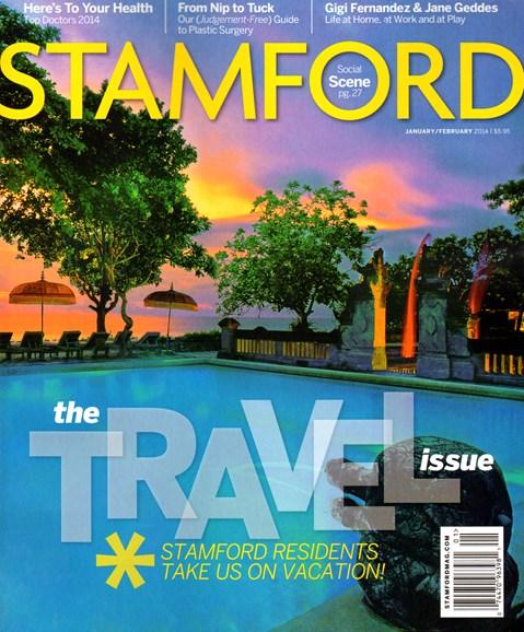 Stamford Magazine Cover - 1/1/2014