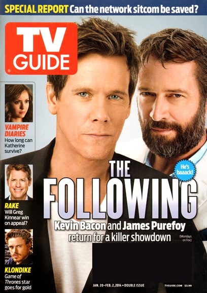 TV Guide Cover - 1/20/2014