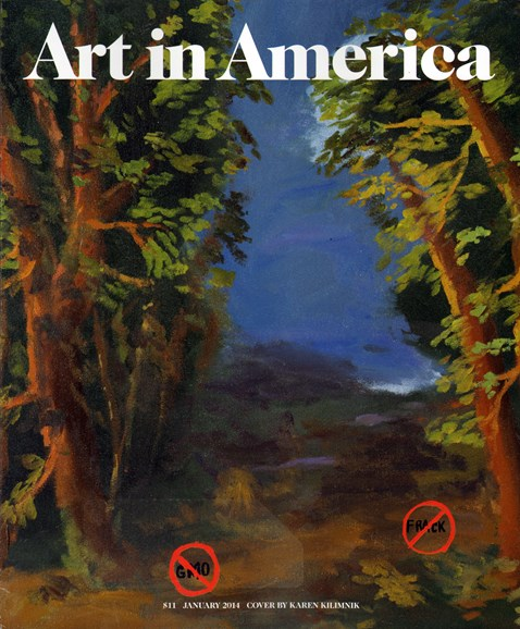 Art In America Cover - 1/1/2014