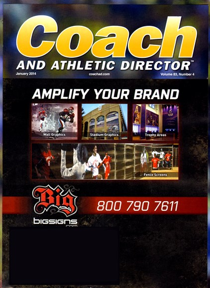 Coach & Athletic Director Cover - 1/1/2014