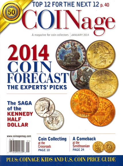 Coinage Cover - 1/1/2014