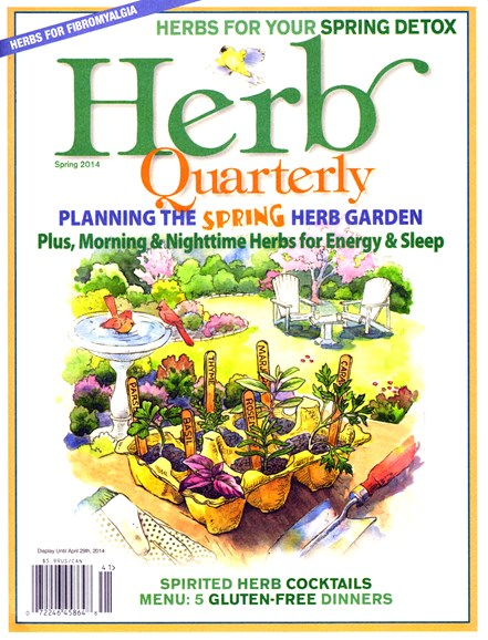 Herb Quarterly Cover - 3/1/2014