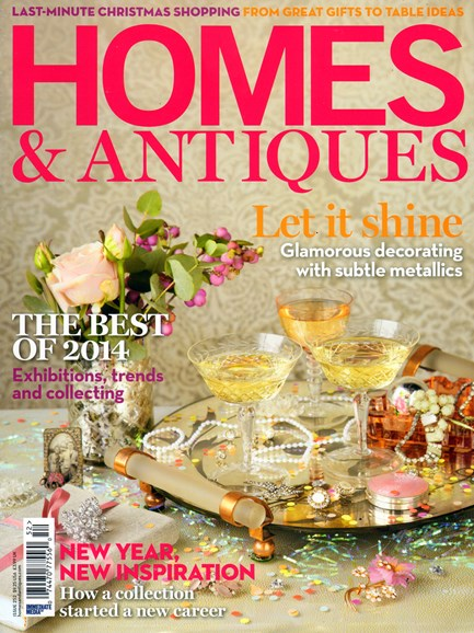 Homes & Antiques Cover - 1/1/2014