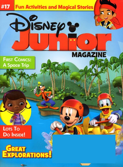 Disney Junior Cover - 1/1/2014