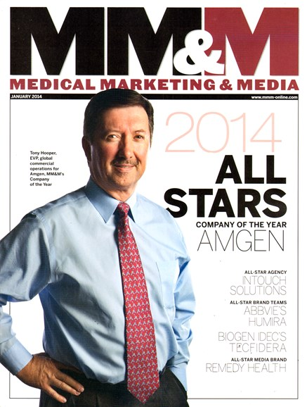 Medical Marketing & Media Cover - 1/1/2014