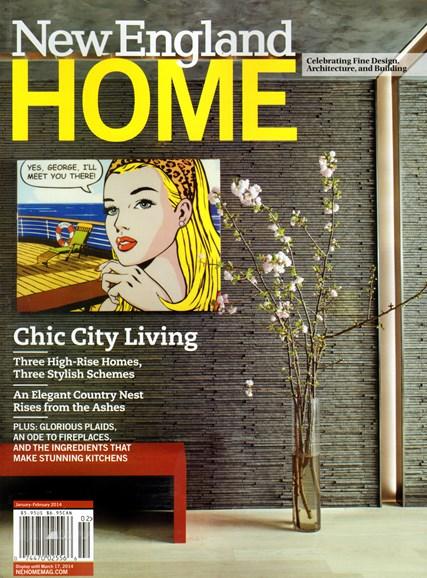 New England Home Cover - 1/1/2014