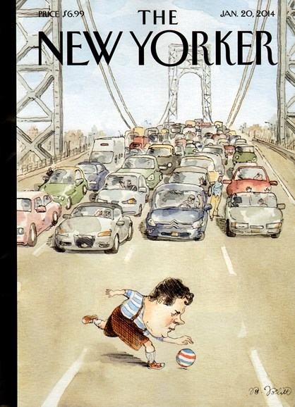 The New Yorker Cover - 1/20/2014