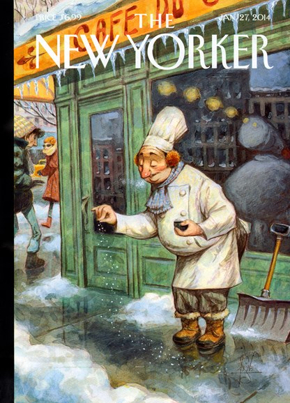 The New Yorker Cover - 1/27/2014