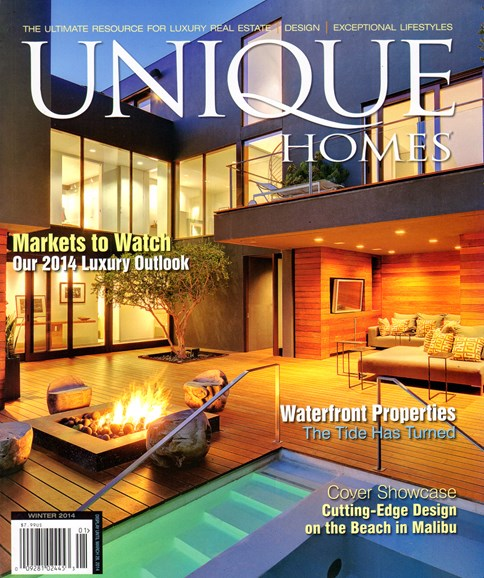 Unique Homes Cover - 1/1/2014