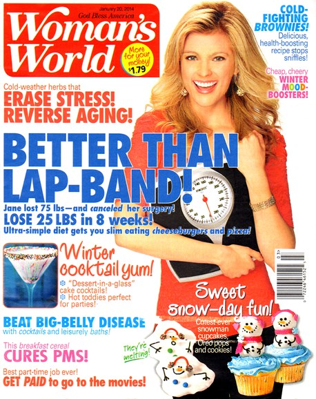 Woman's World Cover - 1/20/2014