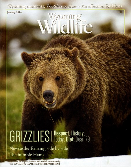 Wyoming Wildlife Cover - 1/1/2014