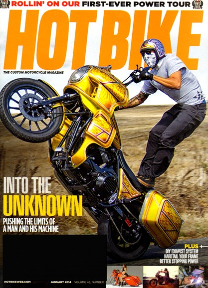 Hot Bike Cover - 1/1/2014