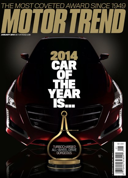 Motor Trend Cover - 1/1/2014