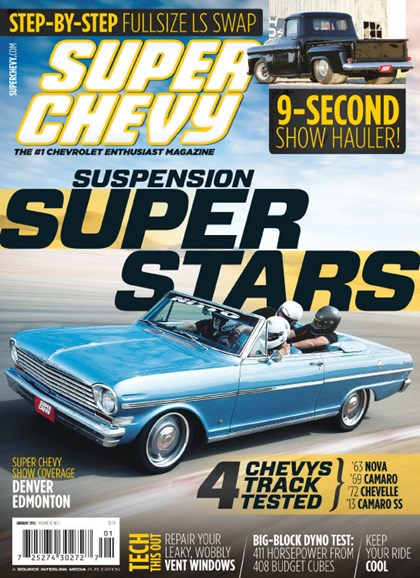 Super Chevy Cover - 1/1/2014