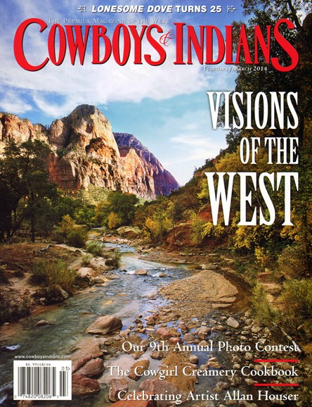 Cowboys & Indians Cover - 2/1/2014