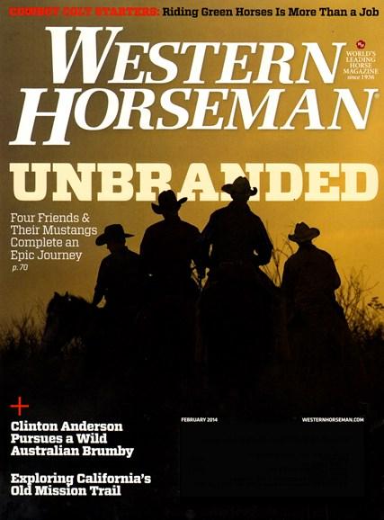 Western Horseman Cover - 2/1/2014