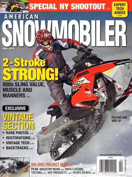 American Snowmobiler Cover - 2/1/2014