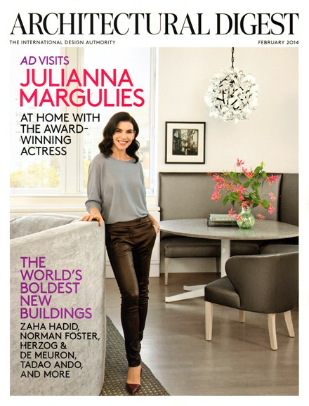 Architectural Digest Cover - 2/1/2014