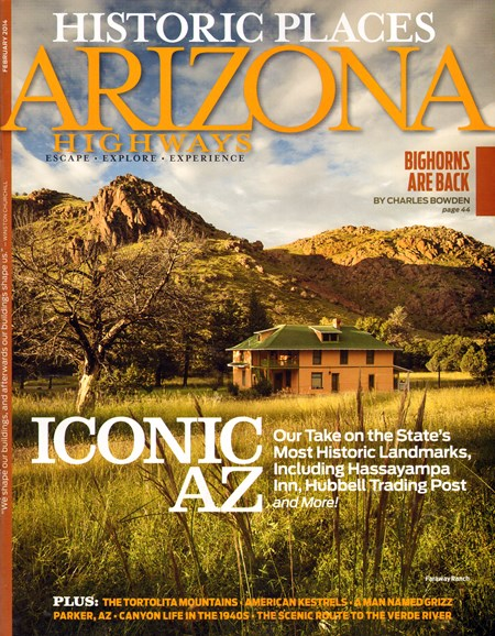 Arizona Highways Cover - 2/1/2014