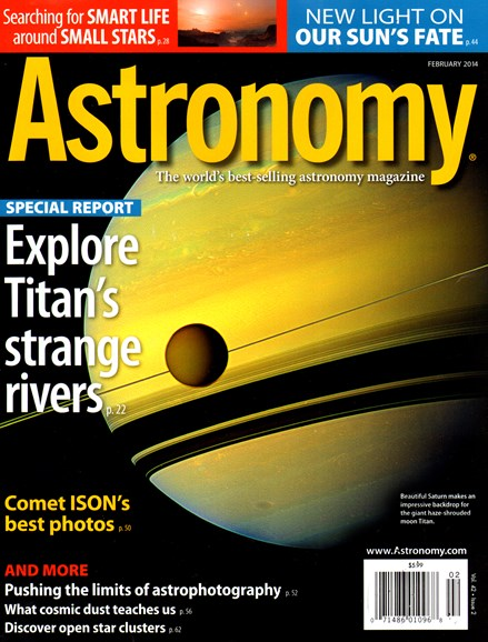 Astronomy Cover - 2/1/2014