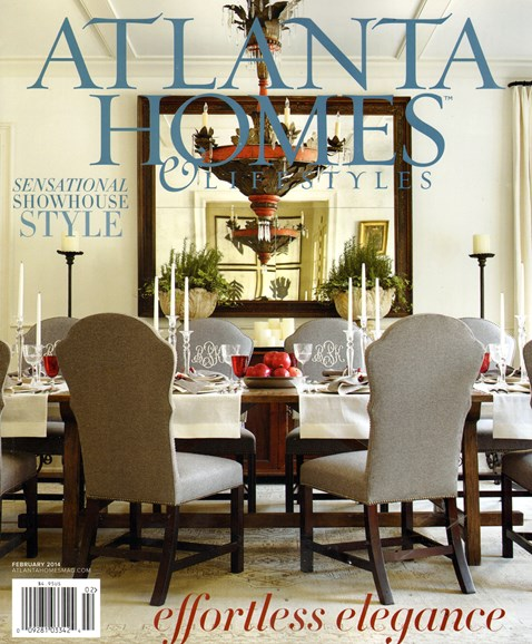 Atlanta Homes & Lifestyles Cover - 2/1/2014