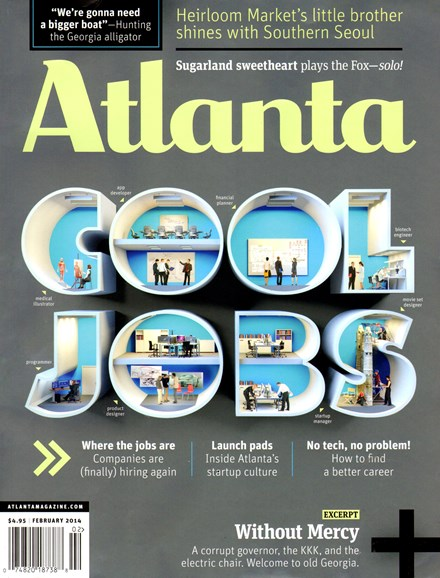 Atlanta Magazine Cover - 2/1/2014