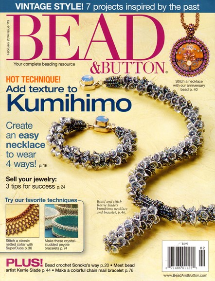 Bead & Button Cover - 2/1/2014