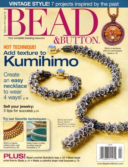 Bead & Button Cover - 2/1/2014