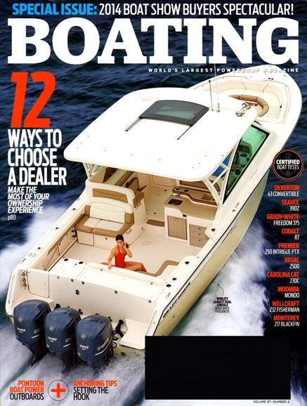 Boating Cover - 2/1/2014