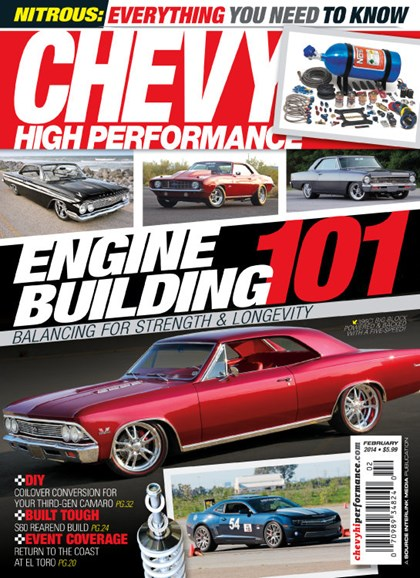 Chevy High Performance Cover - 2/1/2014