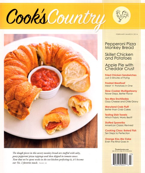 Cook's Country Cover - 2/1/2014