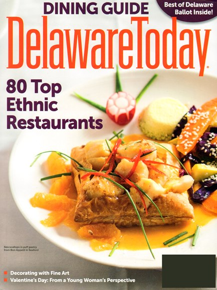 Delaware Today Cover - 2/1/2014