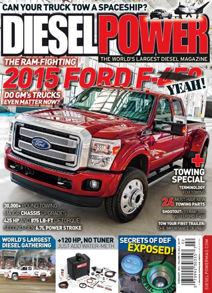 Diesel Power Cover - 2/1/2014