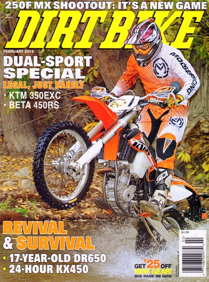 Dirt Bike Cover - 2/1/2014