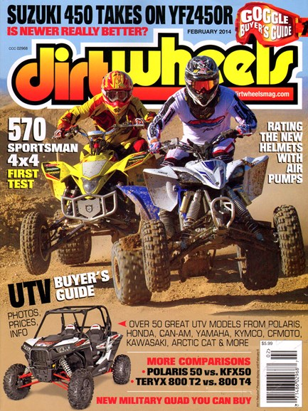 Dirt Wheels Cover - 2/1/2014