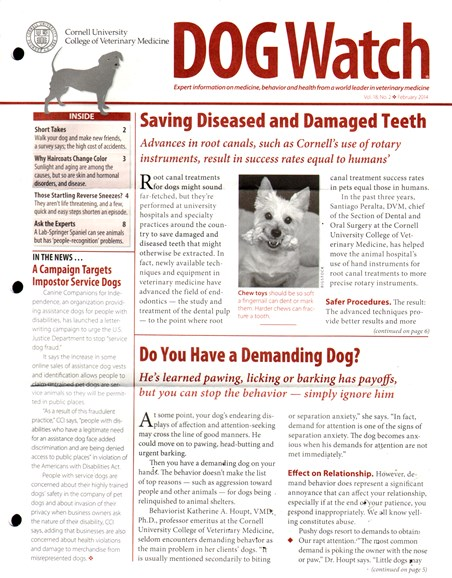 Dogwatch Cover - 2/1/2014