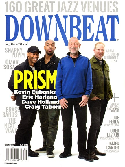 DownBeat Cover - 2/1/2014