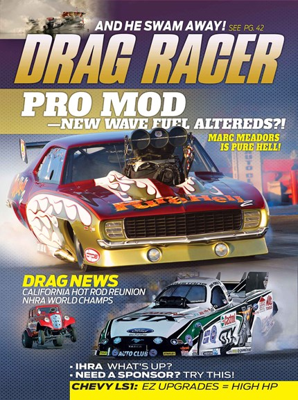 Drag Racer Cover - 2/1/2014