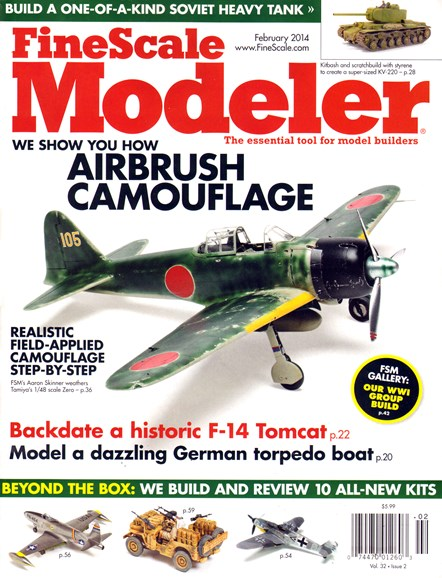 Finescale Modeler Cover - 2/1/2014