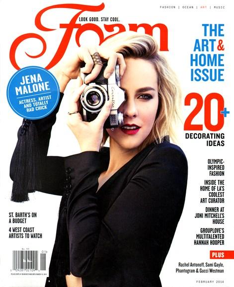 FOAM Cover - 2/1/2014