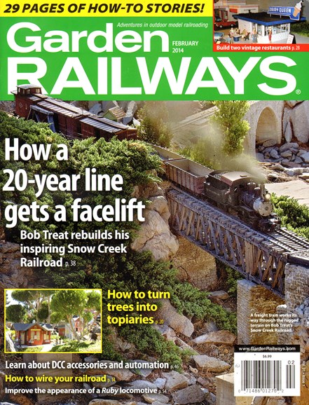 Garden Railways Cover - 2/1/2014