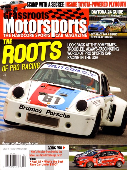 Grassroots Motorsports Cover - 2/1/2014
