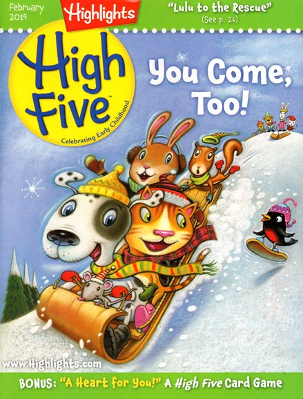 Highlights High Five Cover - 2/1/2014